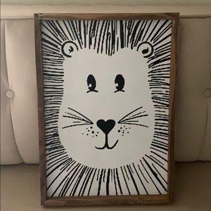 Other - Lion Cat art wall decor